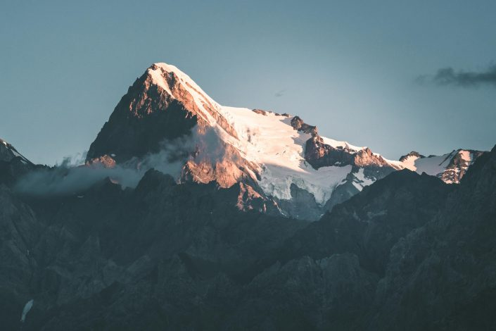 Chimtarga, highest peak of Tajikistan